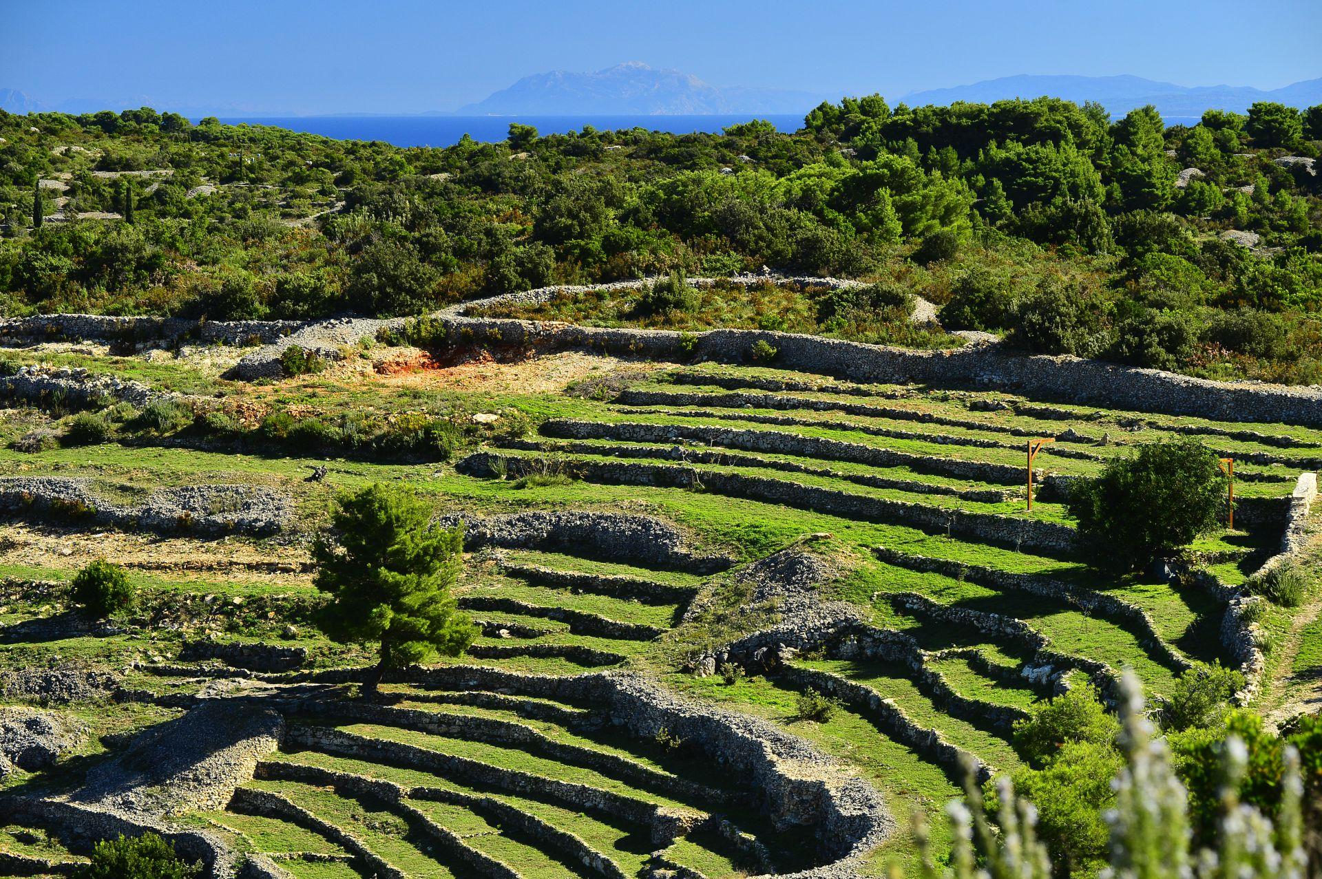 Unutrašnjost otoka Visa