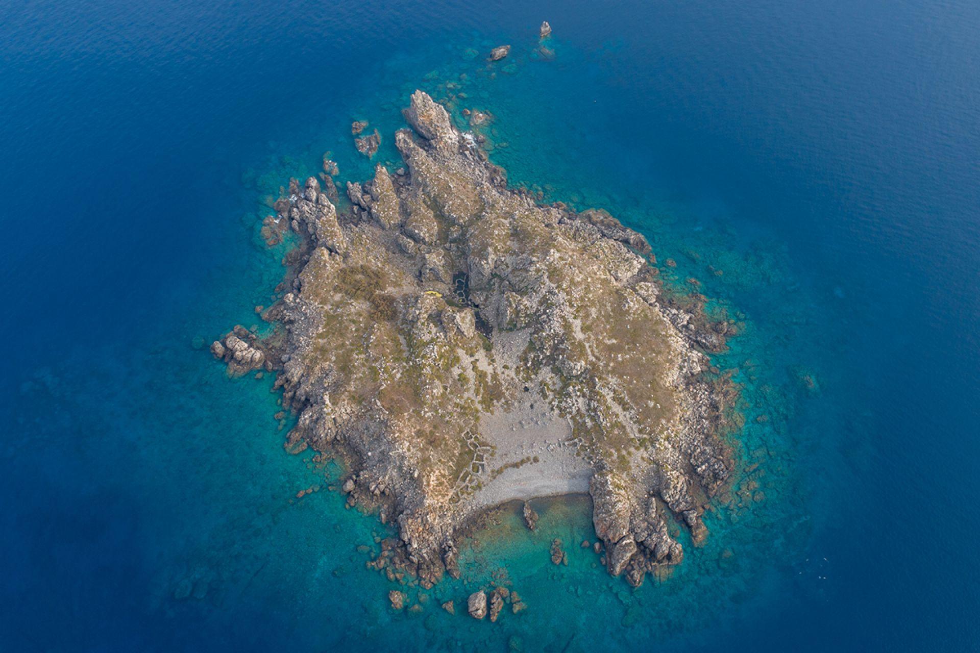 The island of Brusnik